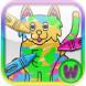 儿童动物涂鸦王国